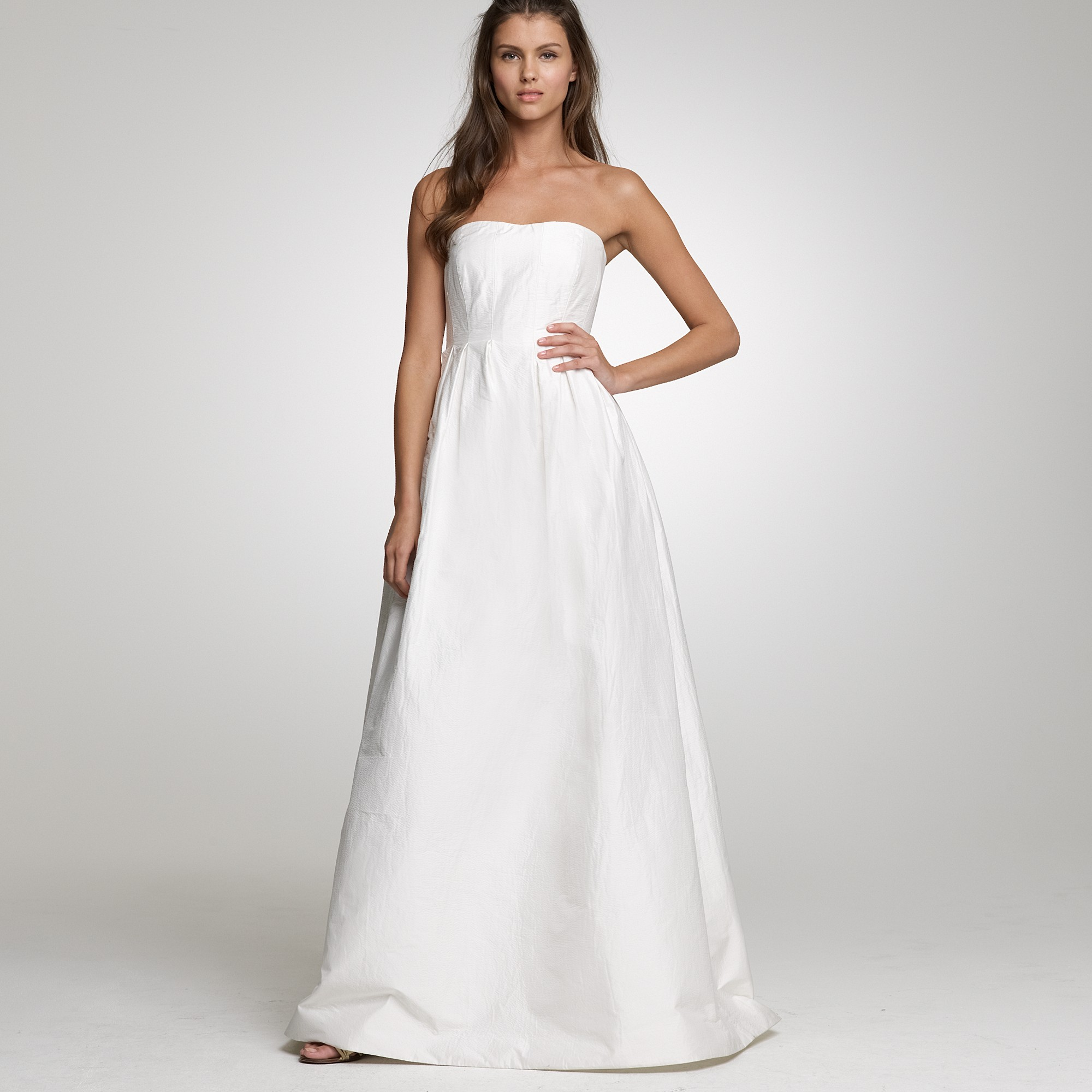 Lyst - J.Crew Lucinda Ball Gown in White