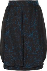 M Missoni Polka Dot Twill Skirt - Lyst