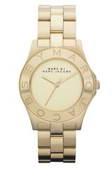Marc By Marc Jacobs Round Bracelet Watch - Lyst