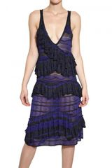 Missoni Blended Lurex Knit Dress - Lyst