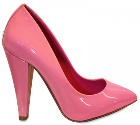 Mulberry 100mm Signature Patent Pumps in Pink - Lyst