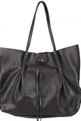 Nina Ricci Grainy Calfskin Shopper Shoulder Bag - Lyst