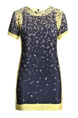Opening Ceremony Silk Flower-print Dress - Lyst