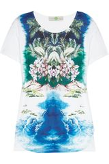 Stella McCartney Hawaiian-print Cotton T-shirt