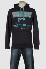 Diesel Hooded Sweatshirts - Lyst