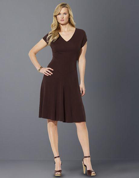 Brown Plus Size Dresses - Prom Dresses New West