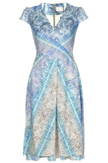 Peter Pilotto Pattern Dress - Lyst