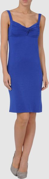 Full Circle Short Dress in Blue - Lyst