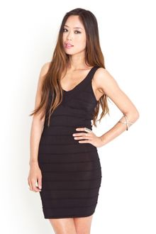 Nasty Gal Piper Bandage Dress - Lyst
