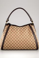 Gucci Zip-top Tall Hobo - Lyst