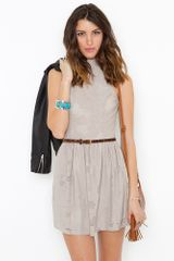 Nasty Gal Hailee Halter Dress - Lyst