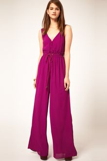 ASOS Collection Asos Jumpsuit with Rope Tie - Lyst