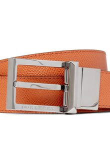 Burberry Webster Reversible Leather Belt - Lyst