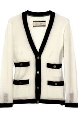 By Malene Birger Tricca Fine-knit Wool Cardigan - Lyst