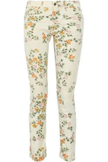 Citizens Of Humanity Mandy Printed High-waisted Straight-leg Jeans - Lyst
