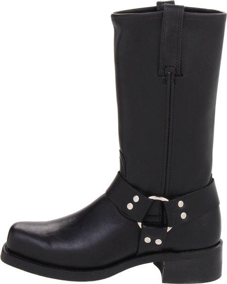 Frye Mens Harness 12r Boot In Black For Men Lyst