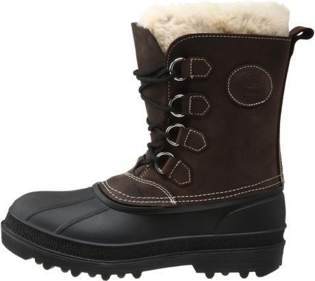 kamik mens pearson cold weather boot in brown for lyst