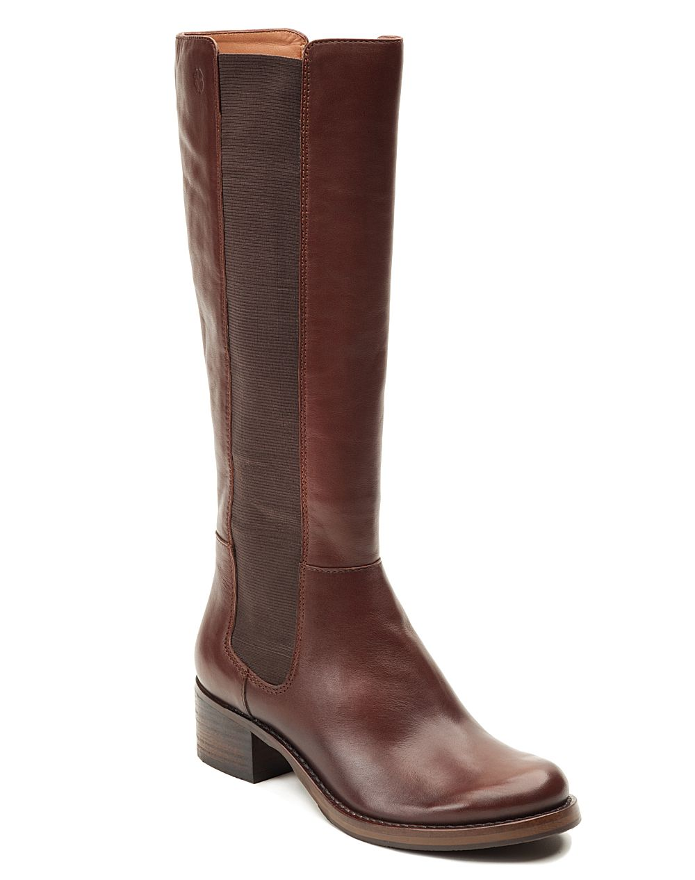 lucky brand hylda boot in brown sequoia lyst