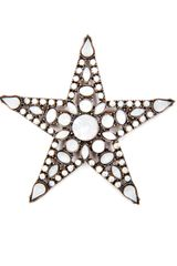 Mango  Star Brooch - Lyst