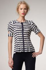 Nanette Lepore Prancing Striped Top - Lyst