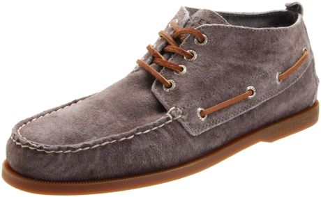 Sperry Top Sider Mens Shoes Grey  Eyelet