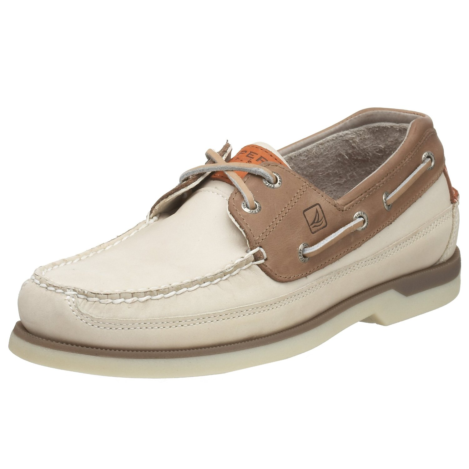 Sperry Top Sider Men S Mako  Eye Boat Shoe Oyster Taupe