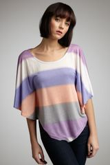Splendid Mirage-stripe Loose Top - Lyst