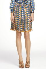 Tory Burch Kamille Skirt - Lyst