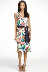 Tory Burch Nicola Dress - Lyst