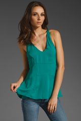 Elizabeth And James Seymour Racerback Top - Lyst