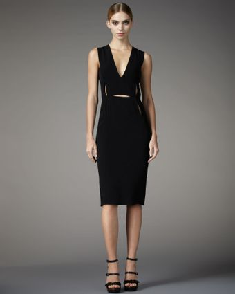 Lanvin Sheath Dress - Lyst