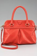 Marc Jacobs Palais Royal New Park Satchel in Red - Lyst