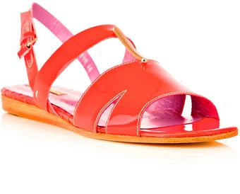 Opening Ceremony Fluorescent Patent Sandals - Lyst