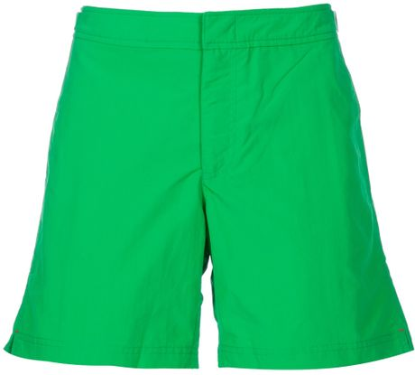 Orlebar Brown Bulldog Ii Swimming Shorts in Green for Men - Lyst