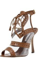 Oscar de la Renta Oxford Illusion Sandal