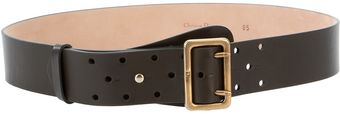 Dior Leather Belt - Lyst