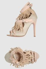 Giambattista Valli Pumps With Open Toe - Lyst