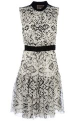Giambattista Valli Patterned Silk Dress
