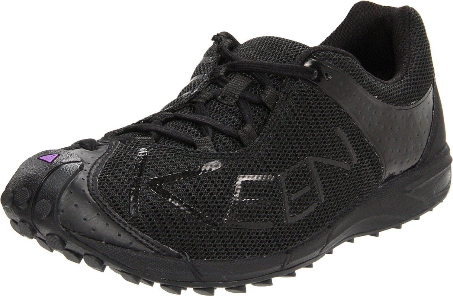 Keen Trail Running Shoe in Black (black/purple heart) | Lyst