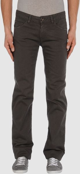 Mauro Grifoni Casual Trouser in Gray for Men (lead) - Lyst