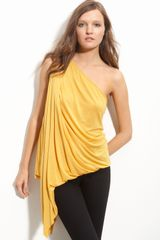 Robert Rodriguez One Shoulder Cascade Top - Lyst