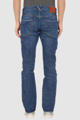 Seal Kay Denim Trousers in Blue for Men - Lyst