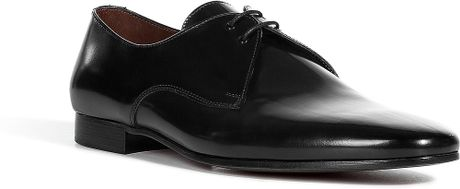 Burberry Black Ceremonial Lace Up Shoes in Black for Men