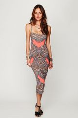 Free People Fitted Midcalf Dress - Lyst