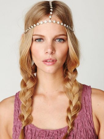 Free People Daisy Chain Headpiece - Lyst