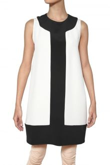 Gianluca Capannolo Two Tone Silk Crepe Dress - Lyst