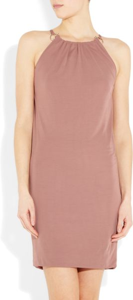 Gucci StretchCrepe Dress in Pink (rose) - Lyst