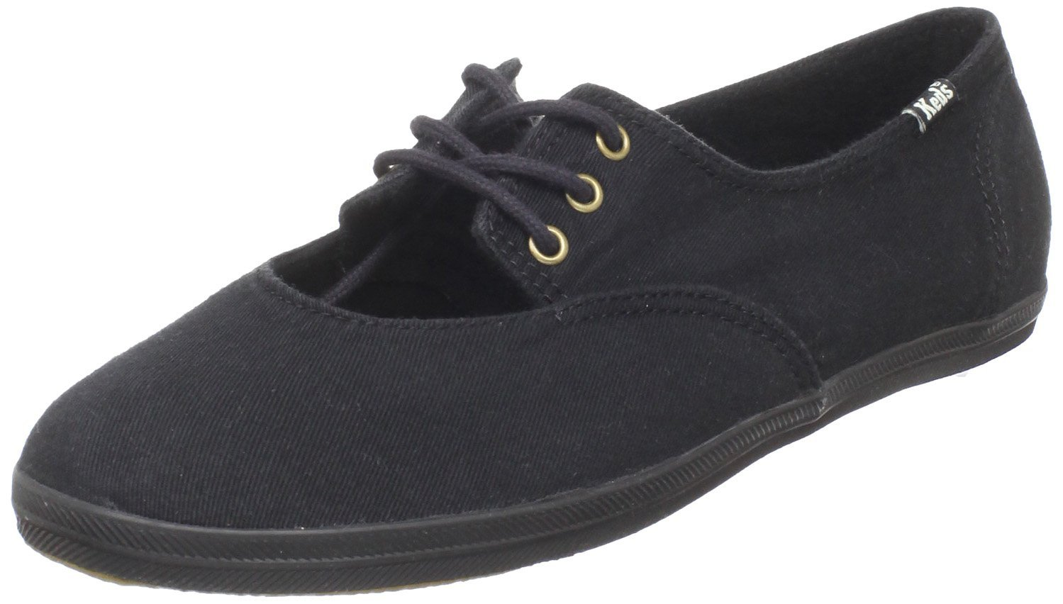 keds womens shabby chic cutie cut out sneaker in black lyst