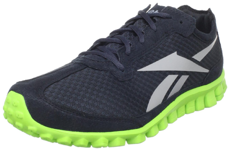 Reebok Mens Realflex Runner Running Shoe in Black for Men ...