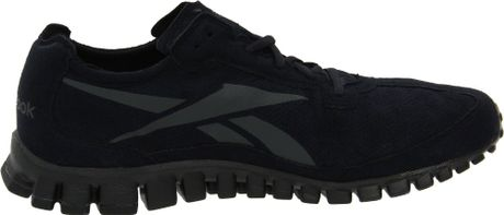 reebok realflex mens all black